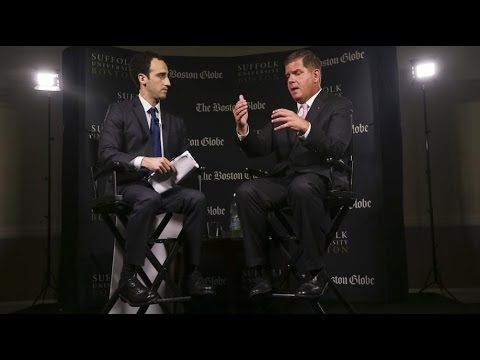 Political Happy Hour with Boston Mayor Marty Walsh