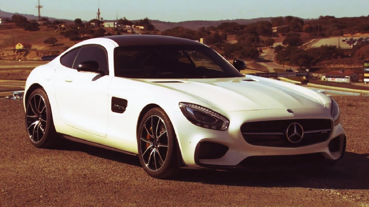 Mercedes AMG GT S Edition 1 Diamond White - Interior and ...