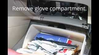 How To Change Cabin Air Filter For A 2003 - 2008 Toyota Corolla