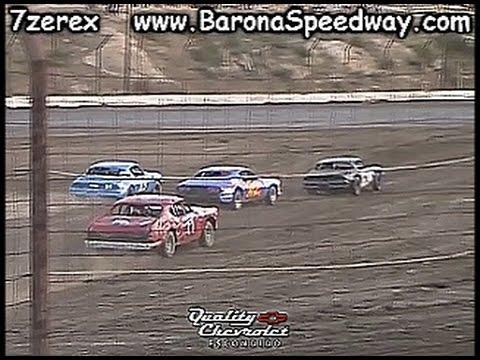 Pure Stock Heat 1 Figure 8 Barona Speedway 4-22-2017