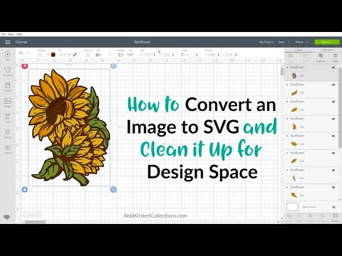 How To Convert An Image To An Svg In Inkscape How To Clean Up A Blended Image For Design Space Youtube