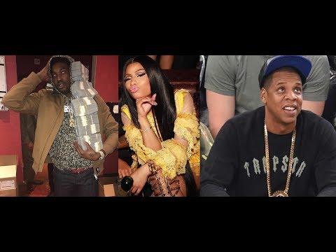 Nicki Minaj Takes Shots at Meek Mill after he posts Jay Z lyrics. Meek Mill Responds back. Mp3