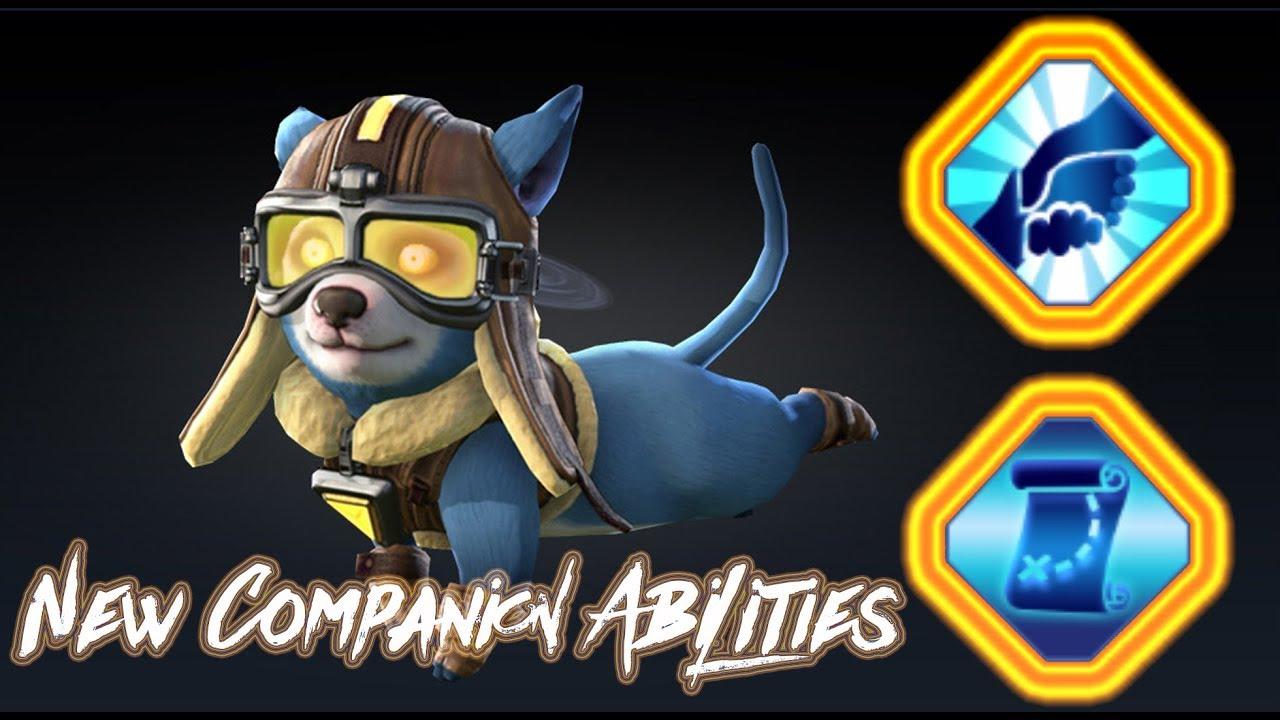 Skyforge: New companion abilities / PC