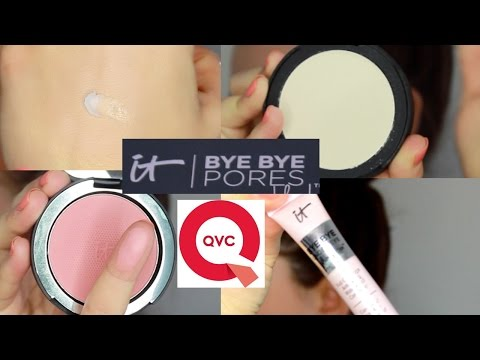 It Cosmetics + QVC 'Bye Bye Pores' Collection Review! Beauty Banter
