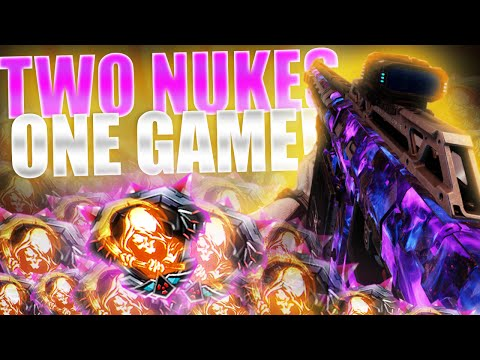 WORLD'S FIRST SVG-100 DOUBLE NUCLEAR! - Black Ops 3 87KD Sniping Double Nuclear [PC]