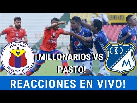 REACIONES EN VIVO⚽ [Pasto Vs Millonarios] Liga Aguila - Austin - Fpc