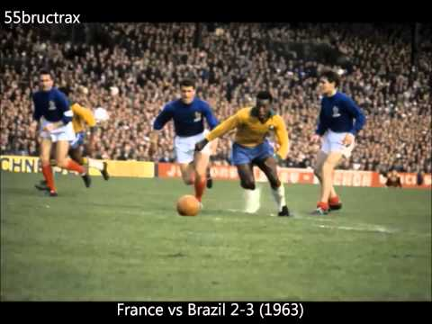 Pelé *Best Dribbling Skills, Passing & Goals* Part 1