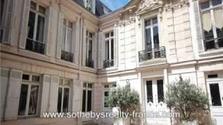 Propriétés de luxe en France - Hôtel particulier Jardin du Luxembourg