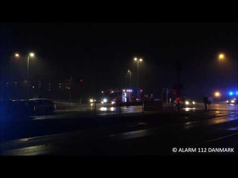 21.01.2017 2 biler kørte sammen i kryds, Vallensbæk