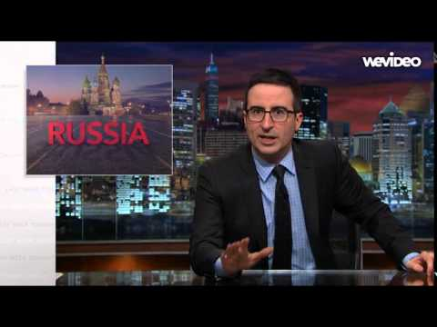 John Oliver on Boris Nemtsov Murder