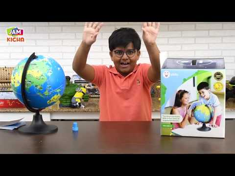 PlayShifu Orboot | Augmented Reality Smart Globe Review | Travel the world with AR  | Toy Unboxing