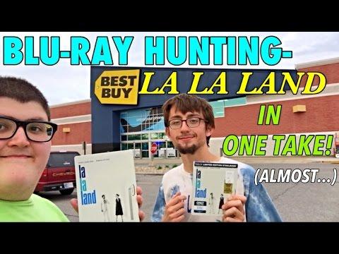 BLU-RAY HUNTING- LA LA LAND | IN ONE TAKE (Almost...)