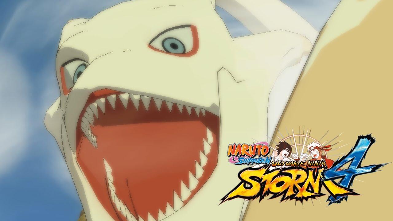 naruto storm 4 kokuo han all movesets youtube