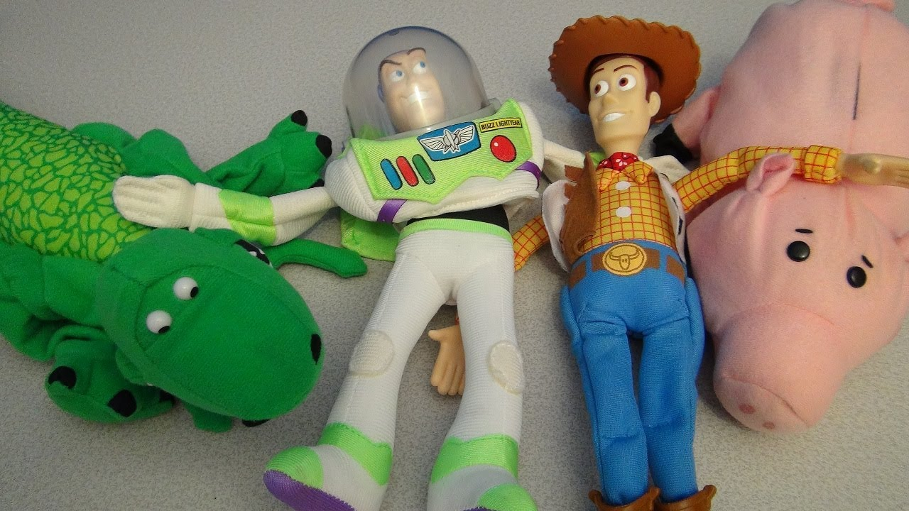 TOY STORY PALS 1995 BURGER KING BIG KID'S MEAL COLLECTION