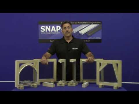 SNAPP® Screen Porch, Deck, Patio Screening System - System Overview