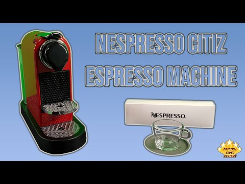 Nespresso Citiz Espresso Machine Review