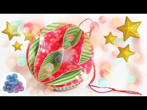 Adornos navide os esferas de papel manualidades de for Adornos navidenos origami paso a paso