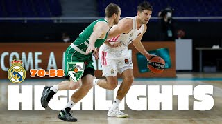 REAL MADRID 70-58 ZALGIRIS KAUNAS | EuroLeague · Jornada 26