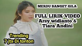 Tiara andini, Arsy widianto - Cintanya aku (Official Full Lirik Music)