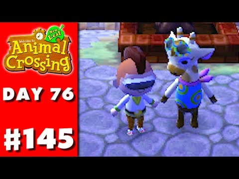 Animal Crossing: New Leaf - Part 145 - Flashy Gracie (Nintendo 3DS Gameplay Walkthrough Day 76)