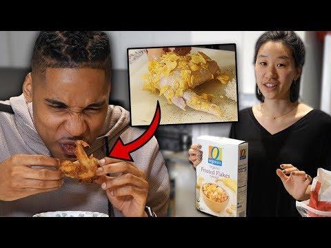 My Korean Fiancée Tries To Cook Me Soul Food! | SLICE n RICE ��