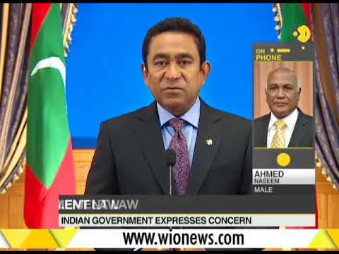 Breaking News: Top judges, opposition leaders arrested in Maldives