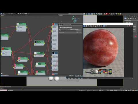 Procedural Grape shading with V-Ray RT GPU (CUDA)