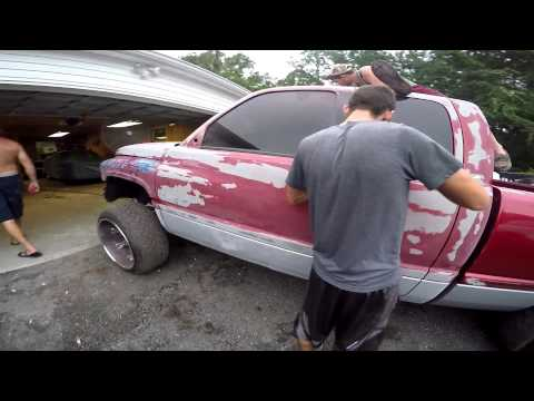 Travis 1999 Dodge Cummins  Paint Job