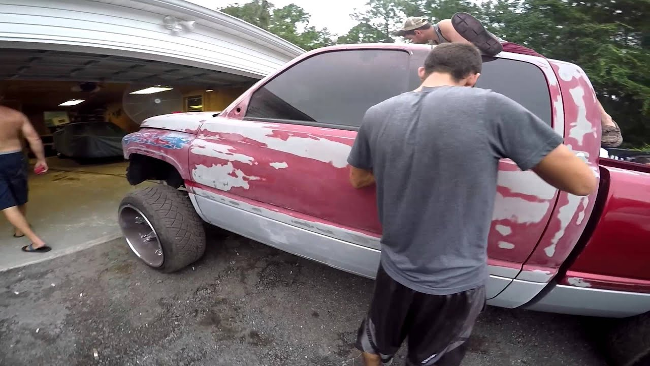 Travis 1999 Dodge Cummins Paint Job Youtube