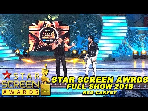 Star Screen Awards 2018 Full Show | Red Carpet | Star Plus Star Screen Awards 2017 2018 Full Show