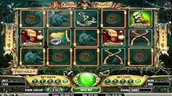 Free Ghost Pirates slot machine by NetEnt gameplay ★ SlotsUp
