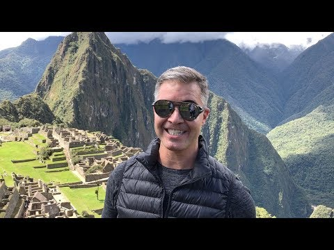 Machu Picchu com o trem de luxo Belmond Hiram Bingham