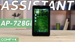 Assistant AP-728Gi 7'' 8Gb 3G - недорогой Android-планшет с начинкой от Intel - Видеодемонстрация