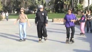 Roller Skate Dance Instructional Video - Part 1 of 3