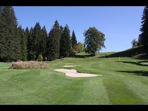 Trou n°2 - Golf Les Gets