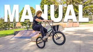 HOW TO MANUAL BMX !!! The easiest way, for beginners!