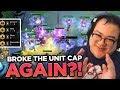 16 UNITS ON MY BOARD? I BROKE THE UNIT CAP AGAIN! | Teamfight Tactics