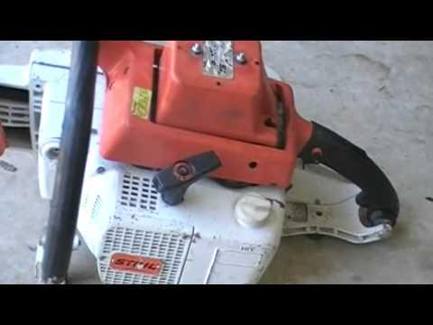 Stihl Ts 510 AV Concrete SawMP4  YouTube