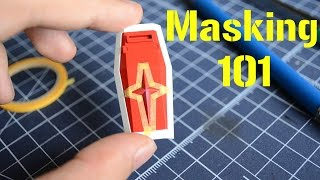 GUNPLA and Model kits: Basic Masking Tutorial!