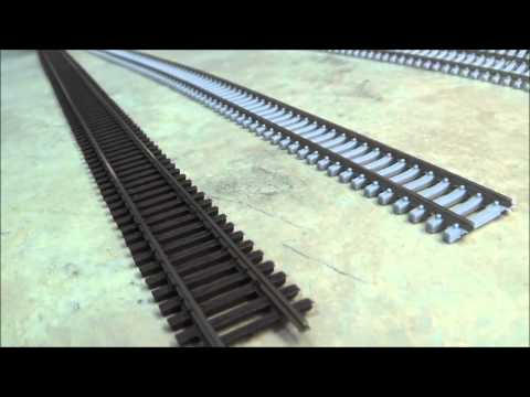 Lets take a look at N Scale Code 55 Track