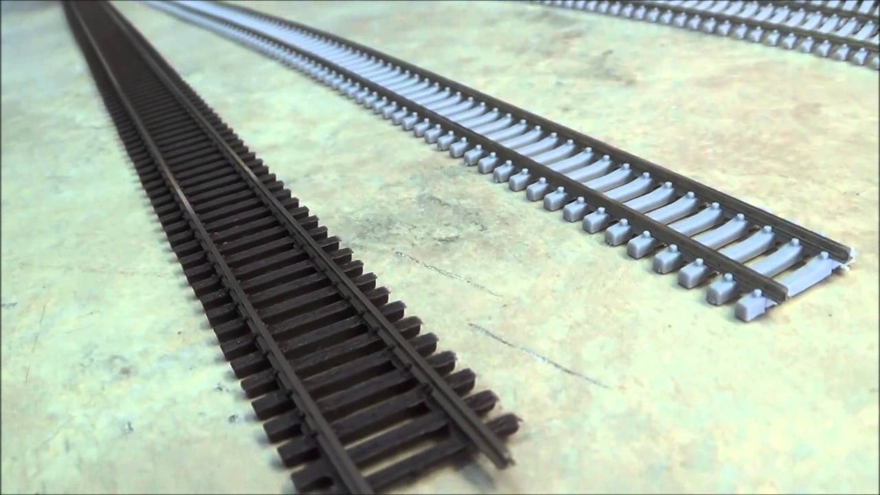 lets take a look at n scale code 55 track youtube micro engineering n scale turn out wiring [ 1280 x 720 Pixel ]