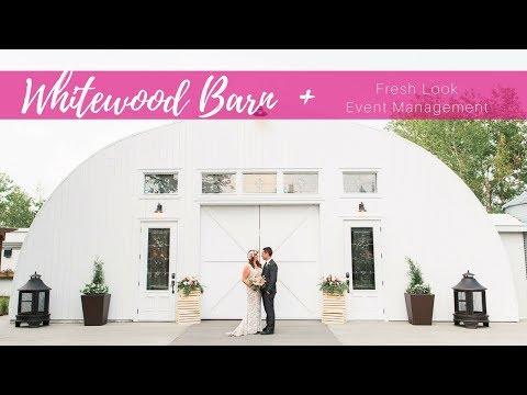 Edmonton Barn Wedding At The Whitewood Barn
