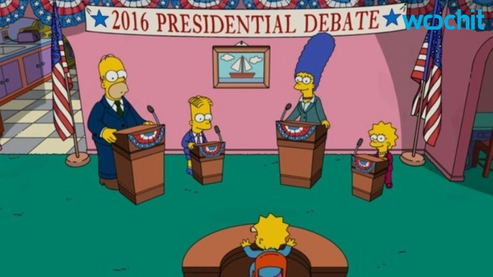 The Simpsons Predicted Donald Trumps Presidency YouTube - Simpsons predictions trump us map