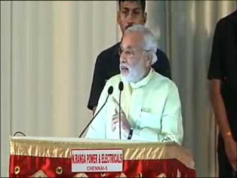 "Shri Narendra Modi delivers memorial lecture on ""India and the World"", Chennai - Speech"