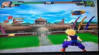 Dragon Ball z budokai tenkaichi 3 Wii tournoi des arts martiaux Sangohan ado Super Sayen 2 thumbnail