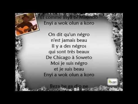 DONNY ELWOOD  - Négro et Beau [Paroles - Lyrics]