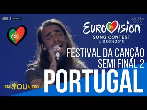 Portugal: Festival da Canção 2018 - Semi Final 2 Reaction