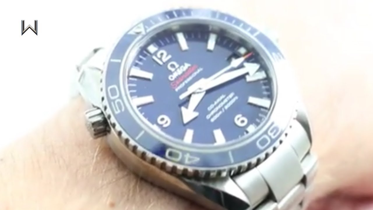 Omega Seamaster Planet Ocean Titanium 232.90.42.21.03.001 Luxury Watch  Review 7116a7186a9f