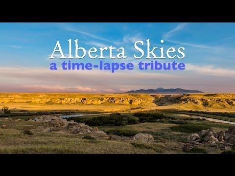 Alberta Skies - A Time-Lapse Tribute