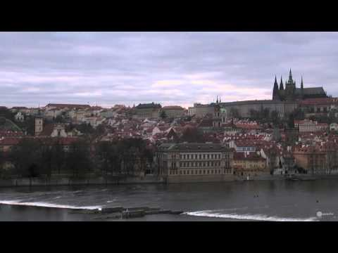 """Prague, capital of the Czech Republic """"the City of a Hundred Spires"""""""